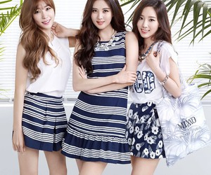 ad, tiffany, and snsd image