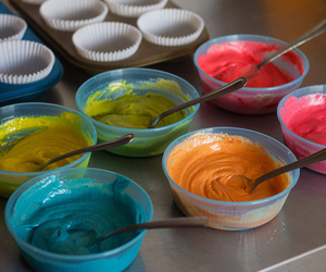 baking, food, and colors image