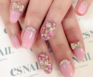 nail art, nails, and pastel image