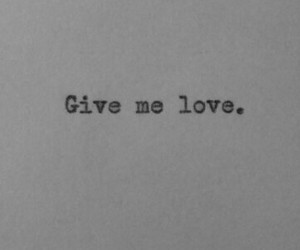 love, give me love, and ed sheeran image