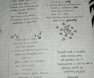 doodles, Lyrics, and cute image