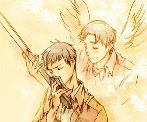 jean, marco, and attack on titan image