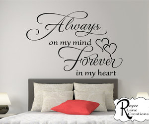 bedroom, bedroom decor, and decal image