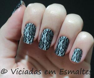 nails, renda, and cute image