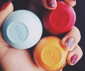 eos, beauty, and blue image