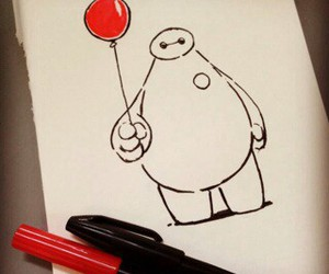 art, cute, and big hero 6 image