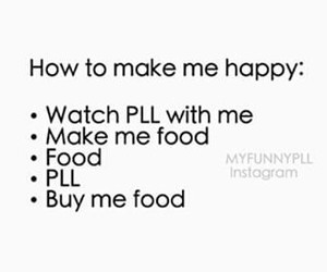 food, pretty little liars, and pll image