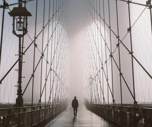 bridge and alone image