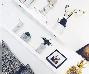 apartment, bedroom, and decorations image