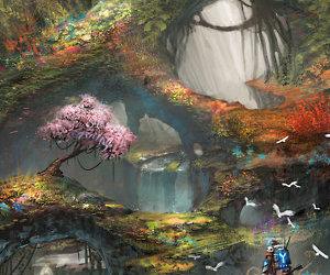 art, enchanted, and magical image