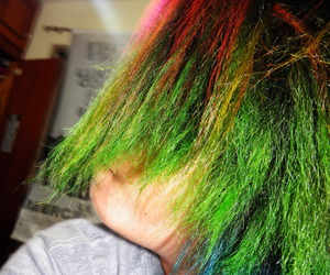 colored hair, nice, and colors image