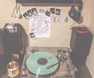 grunge, music, and room image