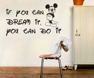 Dream, mickey, and quotes image