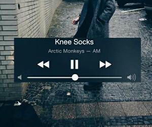 grunge, knee socks, and am image