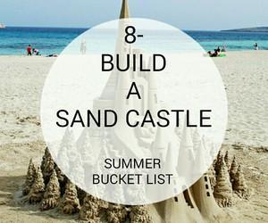 beach, bucket, and summer image