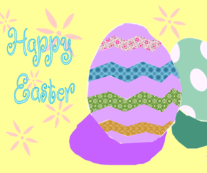 colorful, easter, and eggs image