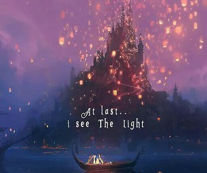 tangled, disney, and castle image