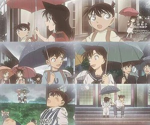 ran, case closed, and shinichi image