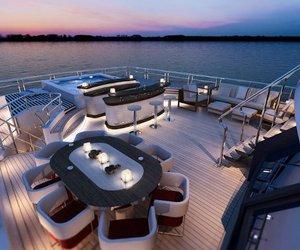 luxury, boat, and glamour image