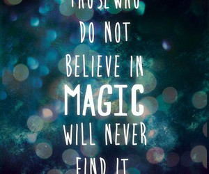 believe, magic, and magical image