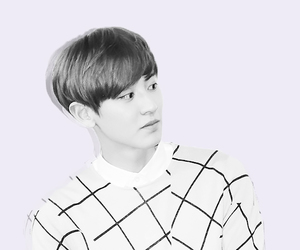 black and white, exo, and pale image