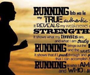 inspiration, running, and no limits image