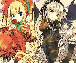 anime, rozen maiden, and shinku image