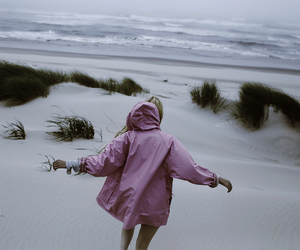 alternative, beach, and coat image