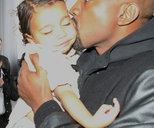 north west, kanye west, and love image