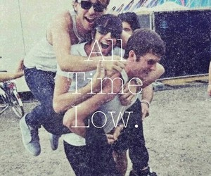 all time low, band, and alex gaskarth image