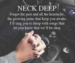 neck deep, Lyrics, and band image