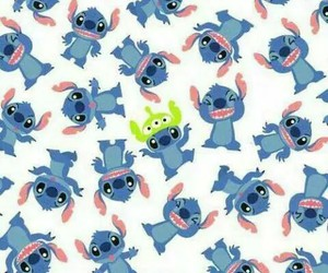 Fond D écran Stitch Disney Imprimé On We Heart It