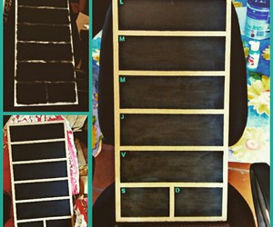 chalkboard paint, diy, and do it yourself image