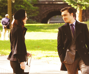 blair waldorf, chuck bass, and gossip girl image