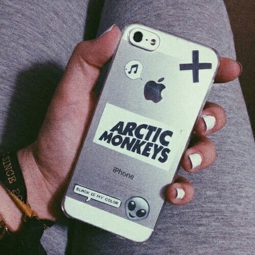 arctic monkeys, iphone case, and bands image