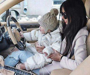 baby, car, and luxury image