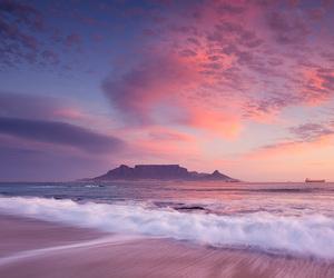 beach, nature, and sky image