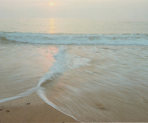 beach, water, and photography image
