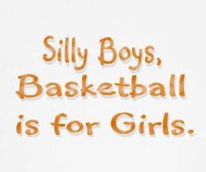 Basketball, duh, and girls image
