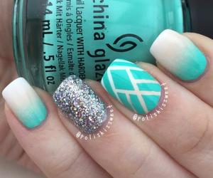 nails, nail polish, and cute image