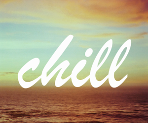chill, ocean, and relax image