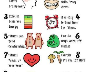 fitness, fit, and healthy image