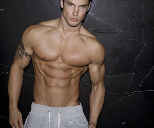 blonde, hot guy, and male model image