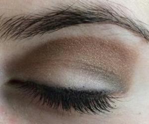 aesthetic, eye, and eyebrows image