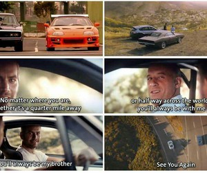 Dominic, fast and furious, and so sad image