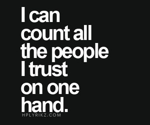 people and trust image