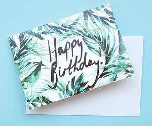 birthday, card, and greeting image