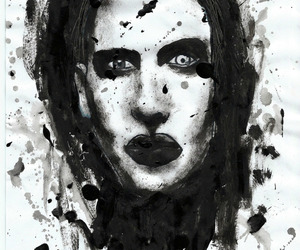 Marilyn Manson and nice bro image