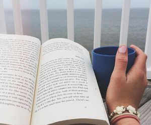 artsy, beach, and book image