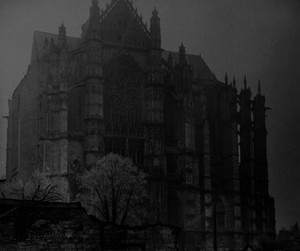 Darkness, black and white, and gothic image